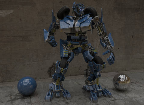 VAZ2107 transformer