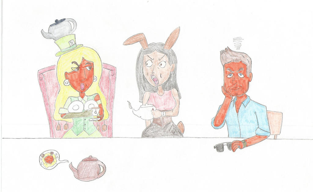 TIPW - Mad GaGa Tea Party by LUVKitty13