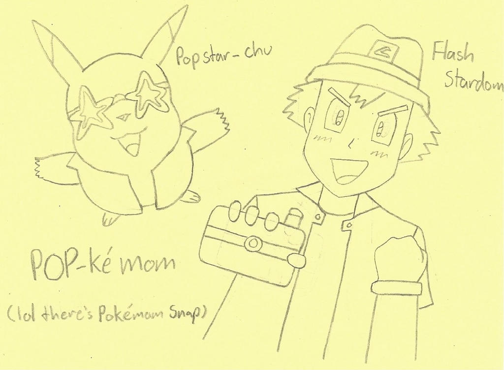 POP-kemon by LUVKitty13