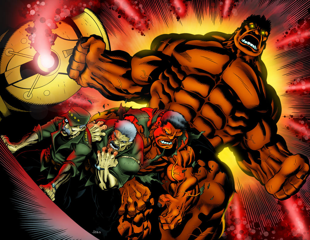 Red hulk by ta2dsoul on deviantart - Pictures of red hulk ...