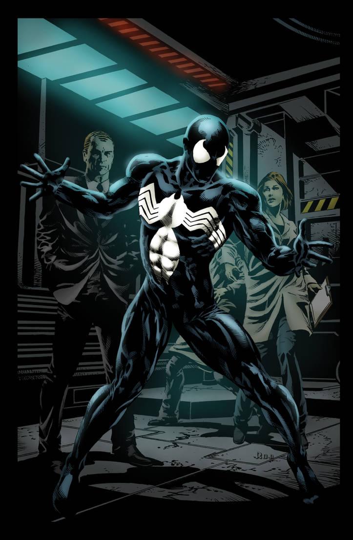 de77fce5d6e8d Spiderman black suit Washed BG by Ta2dsoul on DeviantArt