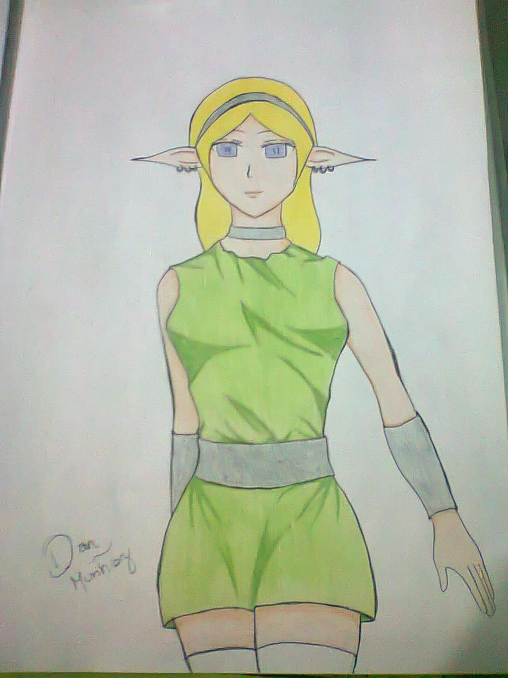 My Elf Princess by MunDan