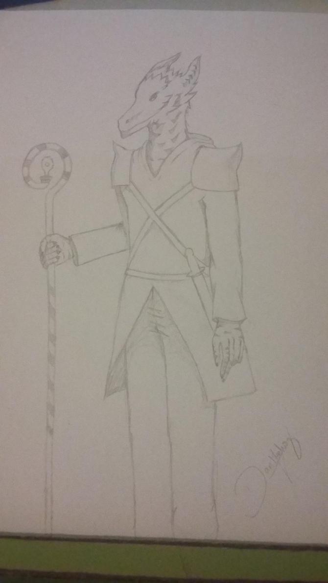 Sorcerer Dragonborn by MunDan