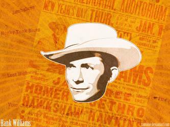 Hank-Williams by TAntoine