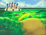 Landscape And Castle