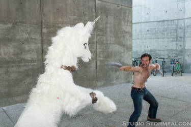 Wolverine vs the Unicorn
