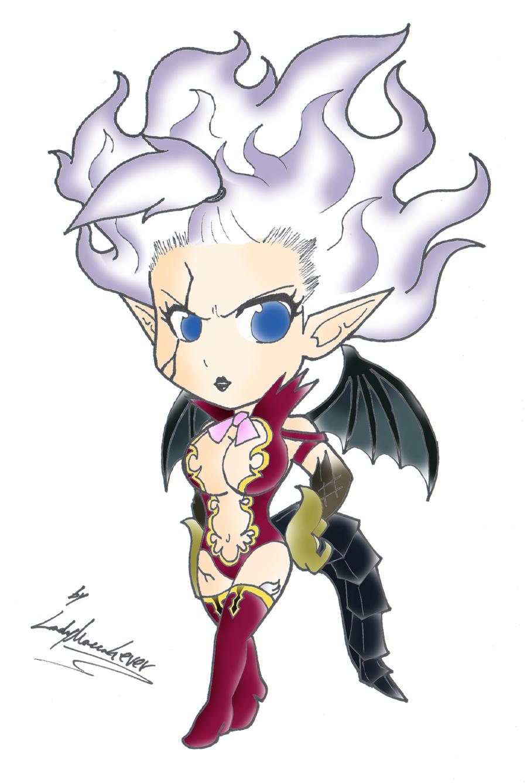 Mirajane Satan Soul chibi by EdoRoku on DeviantArt Fairy Tail Chibi Mirajane