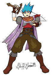 Ryu from Breath of Fire 3 III
