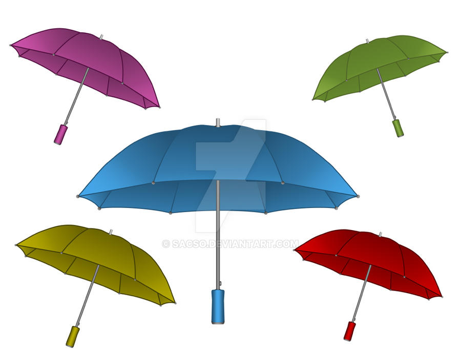 Umbrellas by sacso