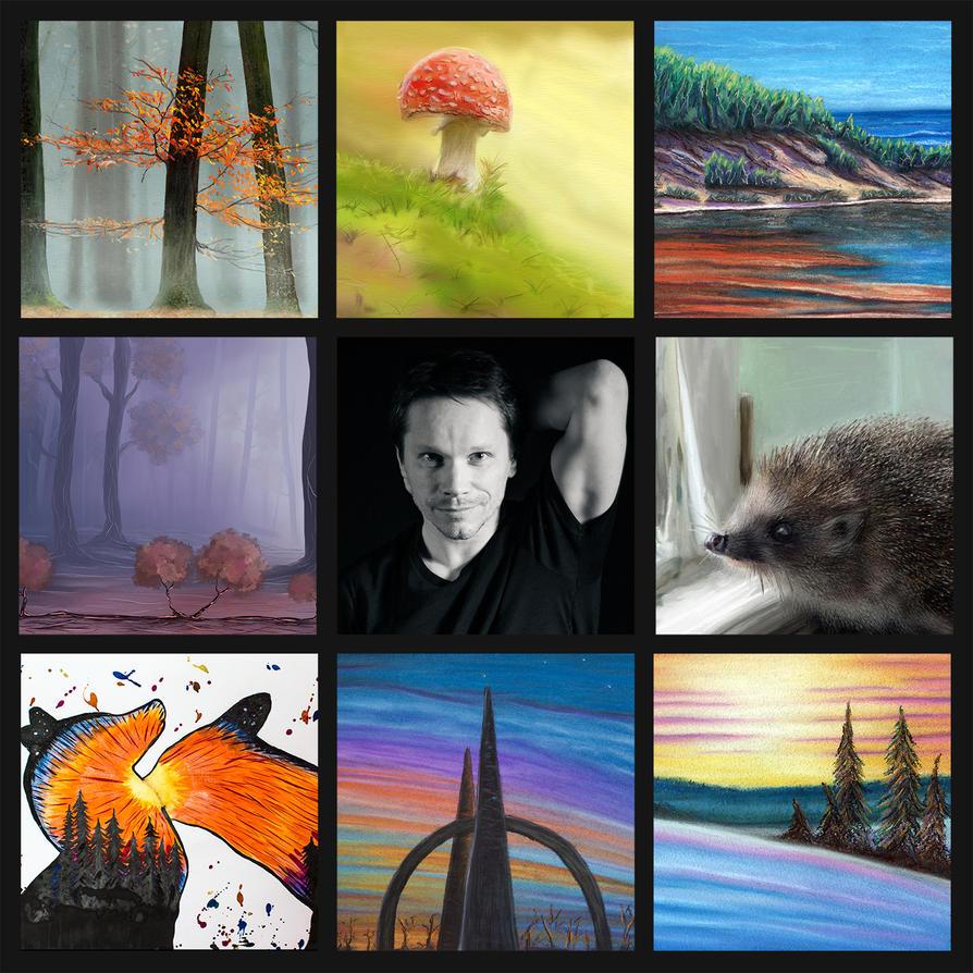 Art Vs Artist by sacso