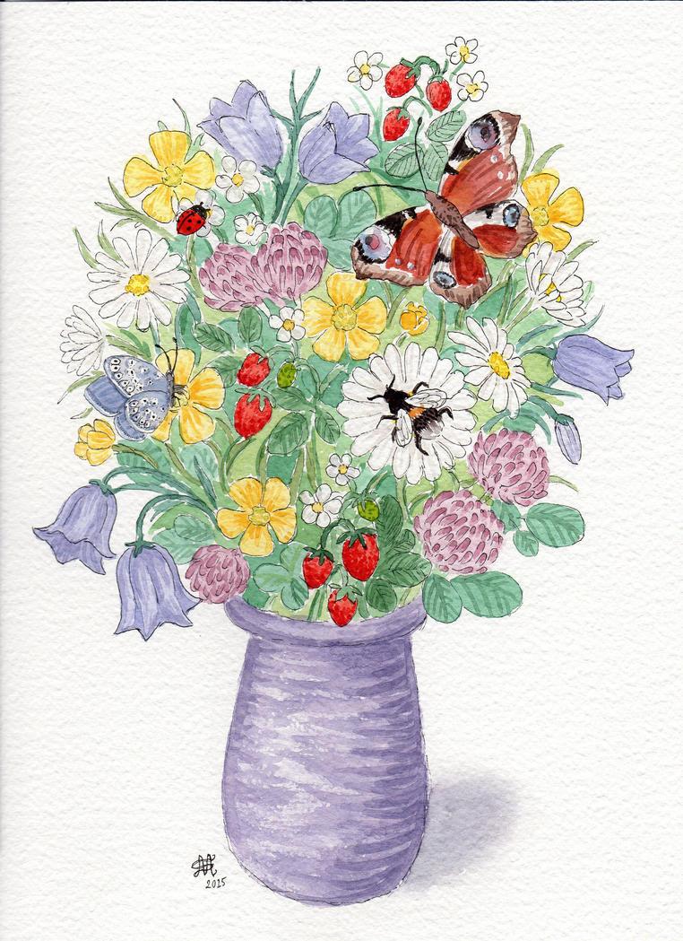 Wildflowers 2 by Nyffetyff