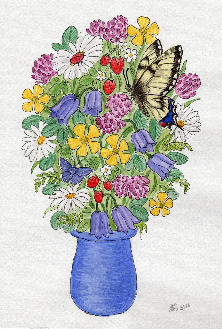 Wildflowers 3 by Nyffetyff
