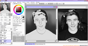 ''  Connor Franta W.I.P. by Divina-H-ART