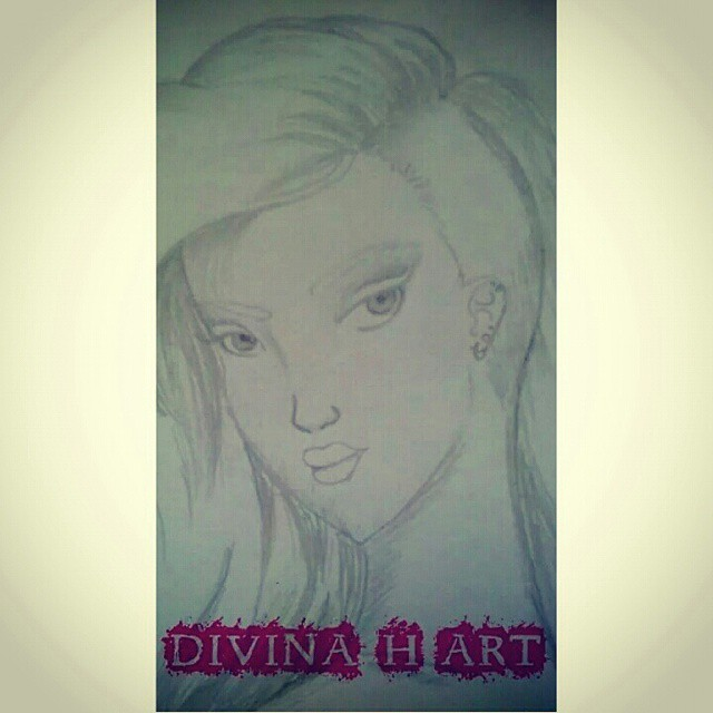 Universe girl W.I.P. by Divina-H-ART