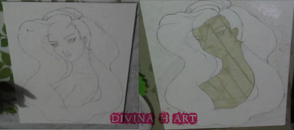 Universe girl W.I.P. #3 by Divina-H-ART