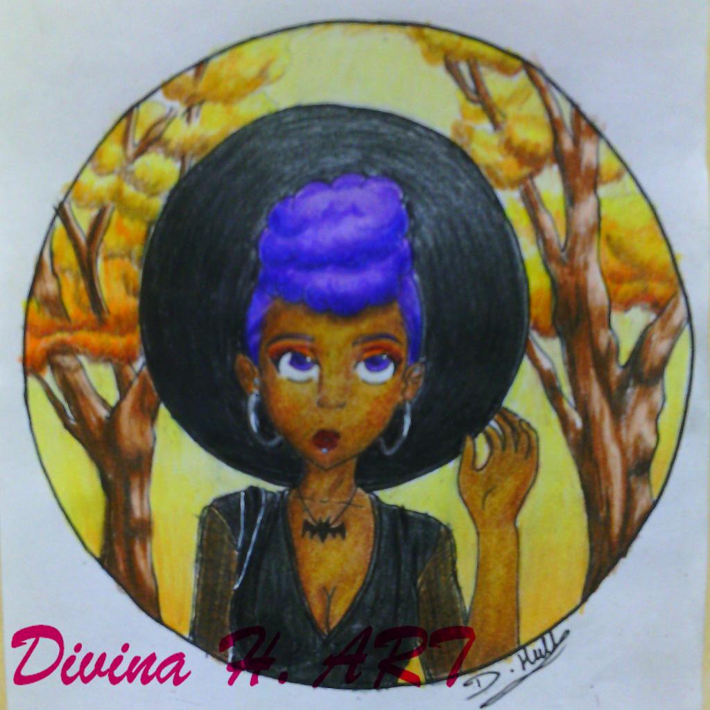 Fall/Autumn Goth Girl by Divina-H-ART