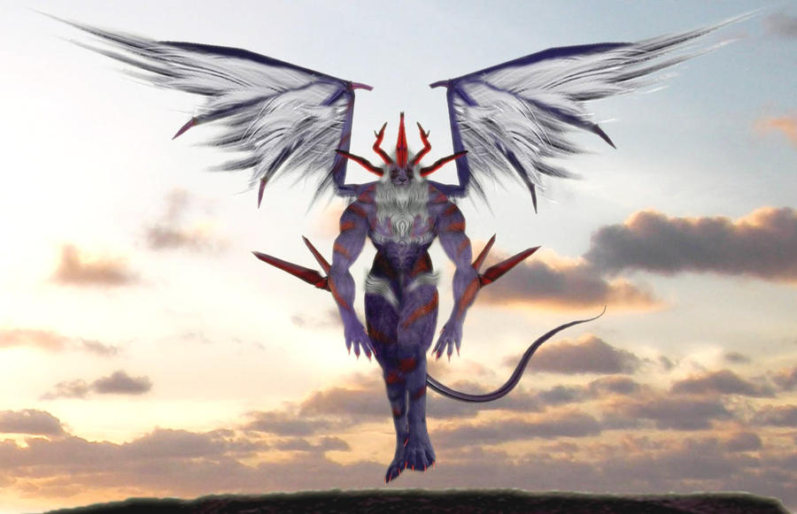 Final fantasy viii guardian force griever by artzfree on for Final fantasy 8 architecture