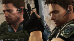 Chris Redfield (RE5) and Chris Redfield (RE6)