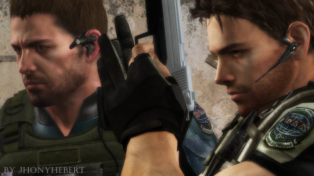Chris Redfield On Resident Evil Series Deviantart