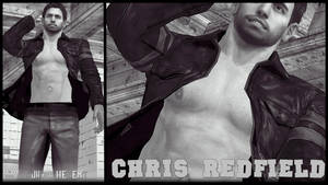 Chris Redfield Shirtless