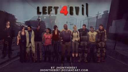 Left 4 Evil - Crossover by JhonyHebert
