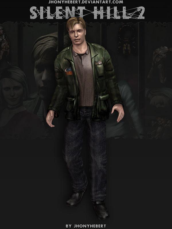 James Sunderland Silent Hill 2 V 2 By Jhonyhebert On Deviantart