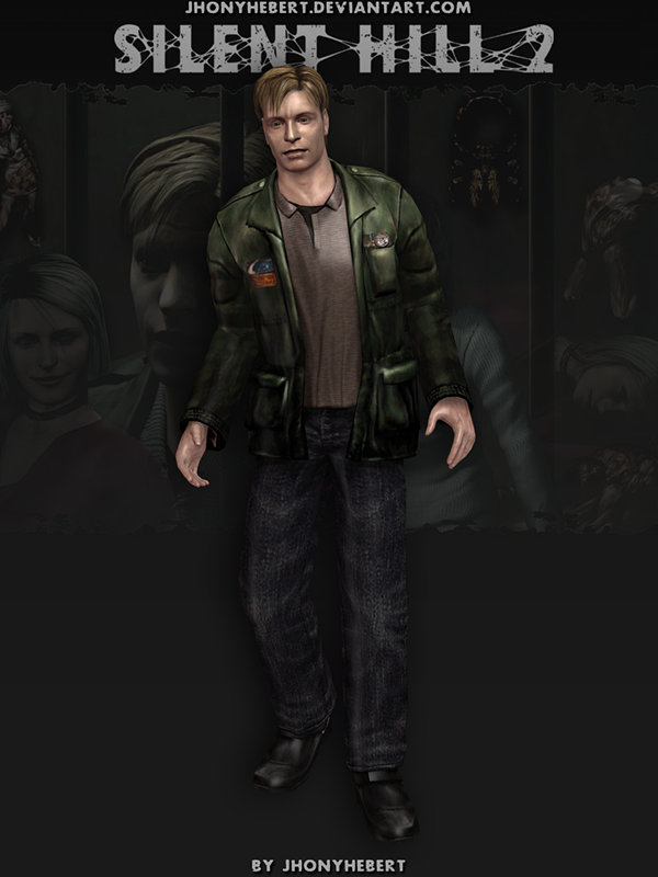 James Sunderland Silent Hill 2 V 2 By Jhonyhebert On Deviantart