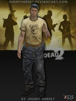 Ellis - Left 4 Dead 2 by JhonyHebert
