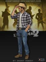 Cowboy Ellis - Left 4 Dead 2 by JhonyHebert