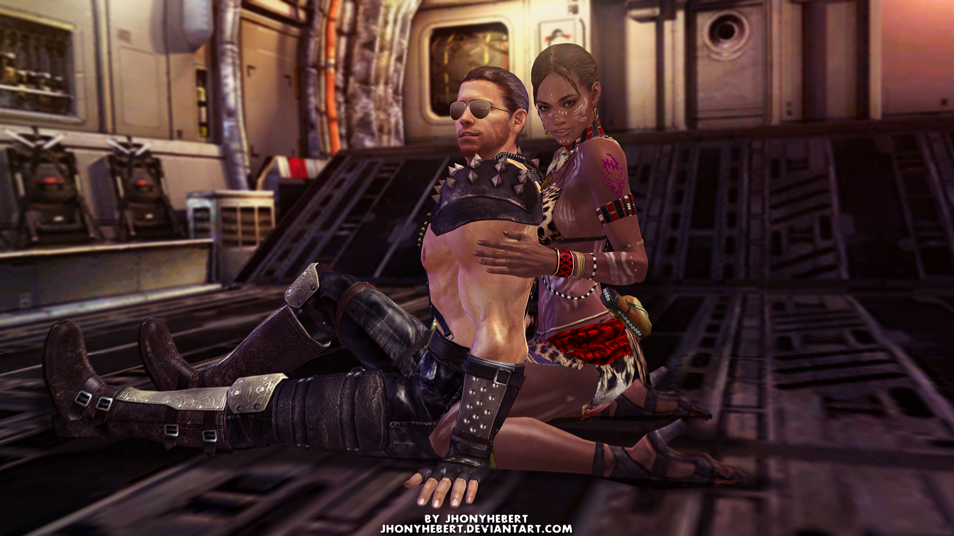jill valentine and chris redfield relationship