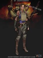 Sheva Alomar - Full Armor by JhonyHebert