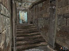 Resident Evil 5 - Corridor by JhonyHebert