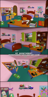 The Simpsons Hit and Run - Bart Bedroom
