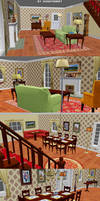 Hannah Montana The Game - Living Room and Kitchen