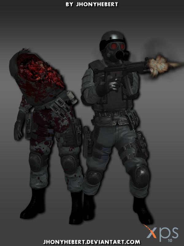 Resident evil hunk