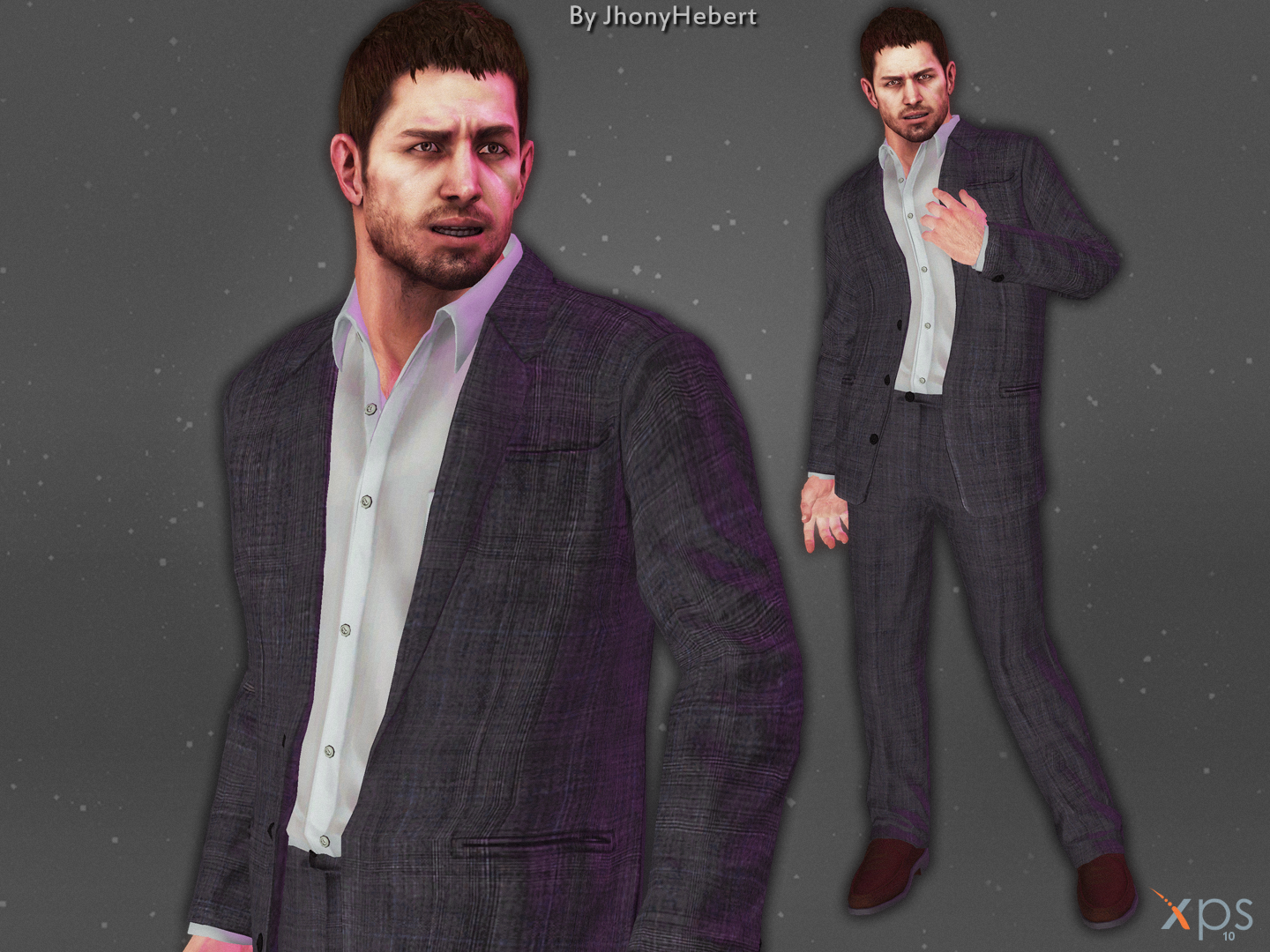 Chris Redfield - Suit by JhonyHebert