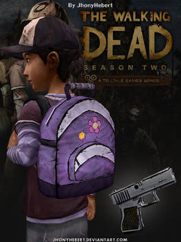 Clementine - Backpack and Pistol