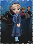 Elsa ( Young) - Frozen Free Fall