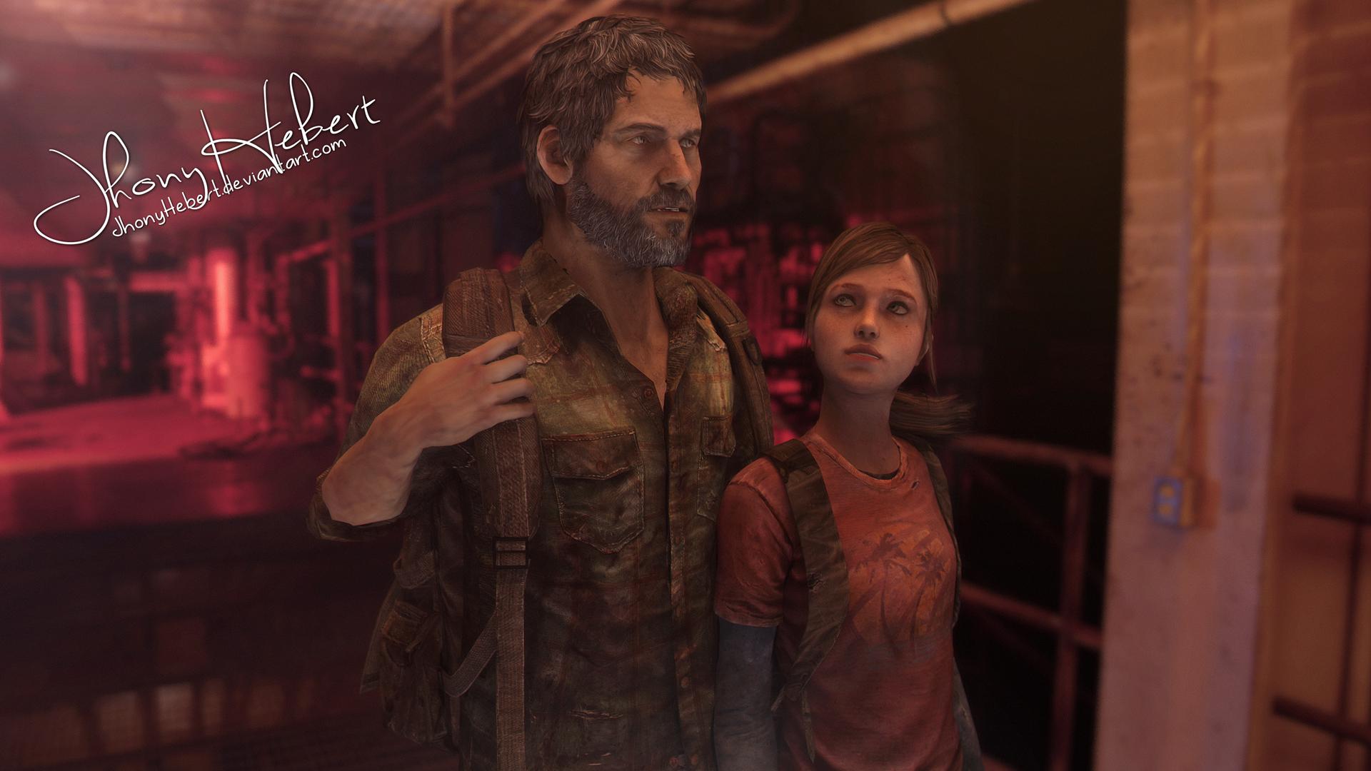 Ellie and Joel - The Last of Us by JhonyHebert on DeviantArt