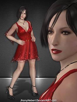 Ada Wong - Red Dress