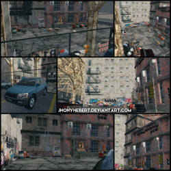 Maxwell's Gym (Outside) - Dead Or Alive 5