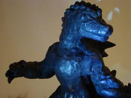 Godzilla Statue by cwgodzilla