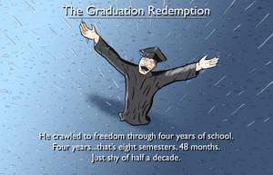 The Graduation Redemption by cwgodzilla