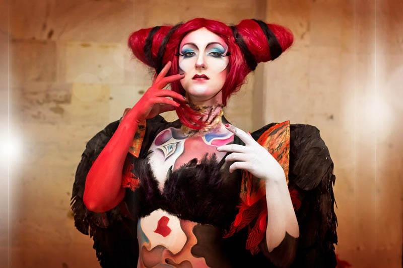 Bodyart - Red Queen by kammael