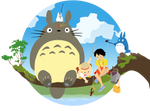 My Neighbor Totoro Vector