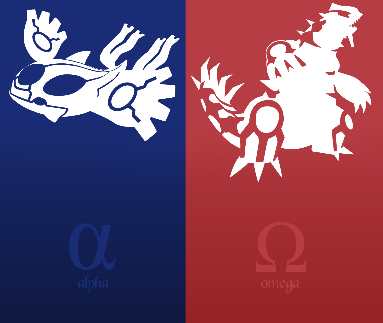 pokemon alpha sapphire omega ruby vector by