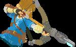 Link - Legend of Zelda Breath of the Wild Vector