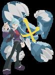 Mega Metagross Steven Stone - Pokemon ORAS Vectors