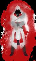 Ezio Auditore Graffiti Art - Assassin's Creed