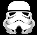 Stormtrooper Helmet - Star Wars Vector